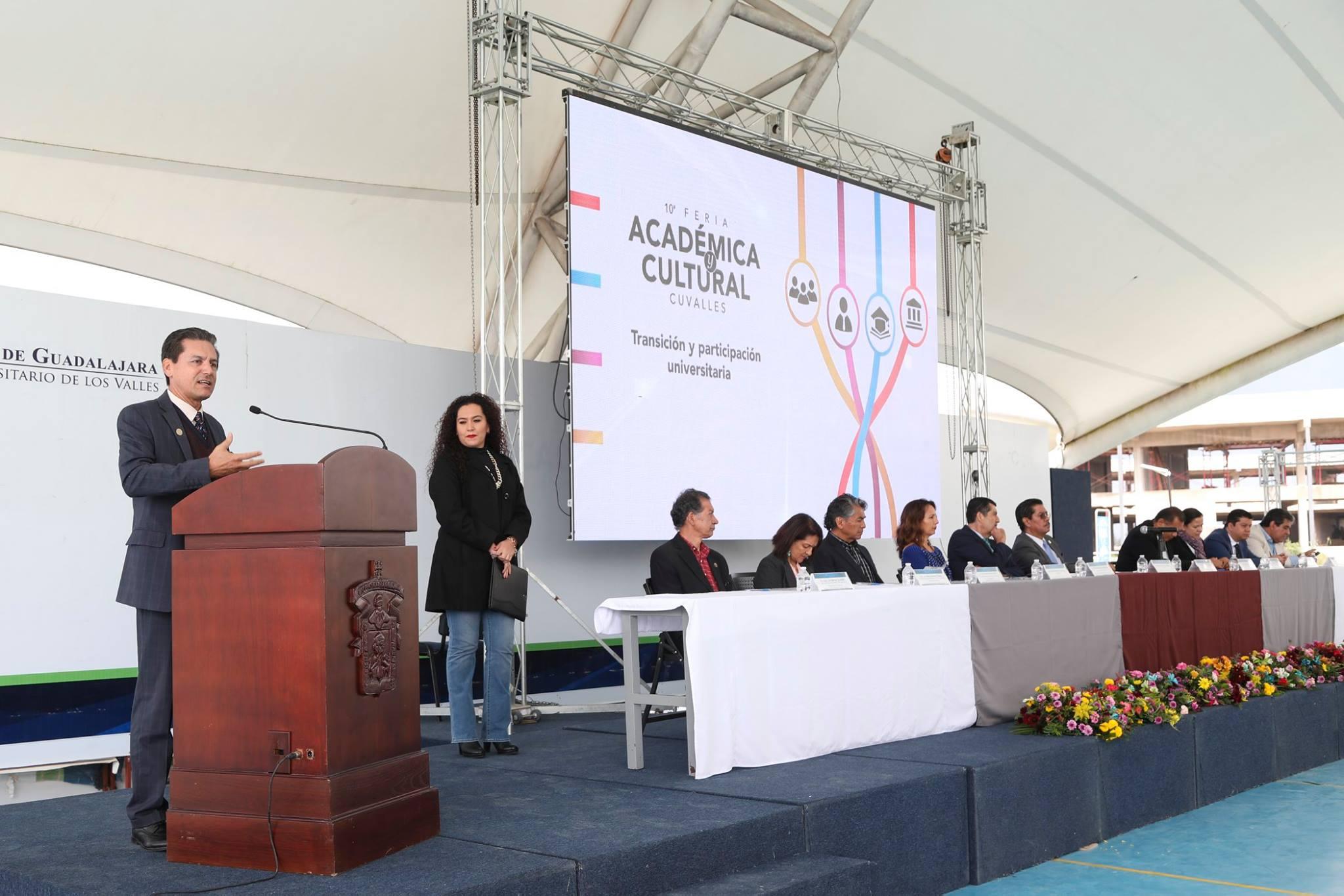 Inauguración de la Feria Académica y Cultural