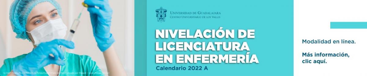 Nivelación de Licenciatura en Enfermería - Calendario 2022 A -