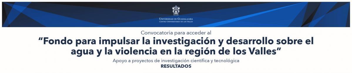 Fondo para la investigación en agua y violencia: resultados 2017