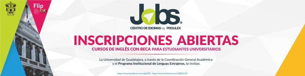 Curso de inglés con beca JOBS (Inscripciones abiertas del 10 al 14 de agosto 2021)