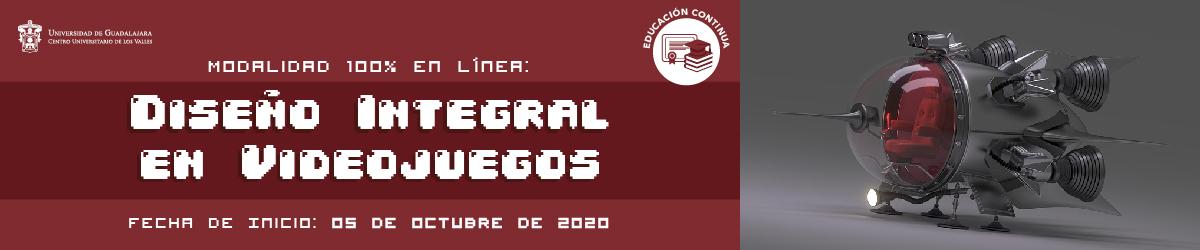 Diseño integral de videojuegos, calendario 2020-B (05 de octubre 2020)