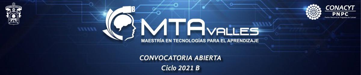 Maestría en Tecnologías par el Aprendizaje - Convocatoria 2021 B -