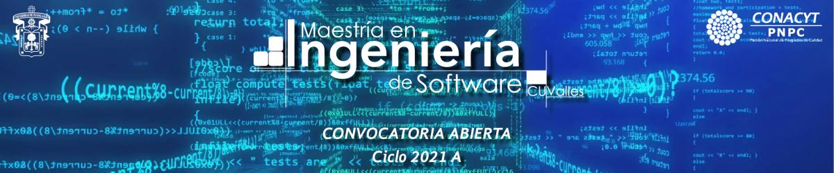 Maestría en Ingeniería de Software - Calendario 2021 A