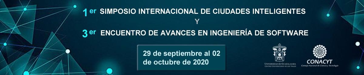 1er Somposio internacional de ciudades inteligentes 2020