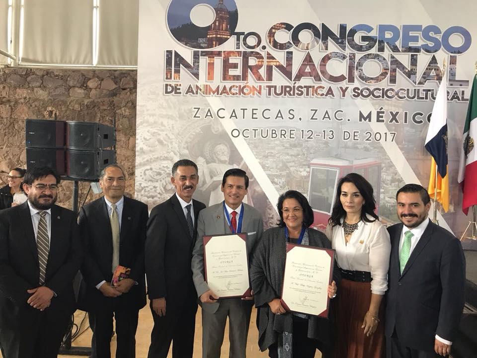 Rector del CUValles es reconocido por el Premio Nacional de Educación Turística AMESTUR 2017