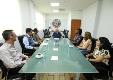 Reunión de bienvenida de estudiantes de intercambio 2019B