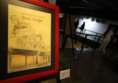Inauguración de la Exposición Fernando del Paso. Efluvios artísticos