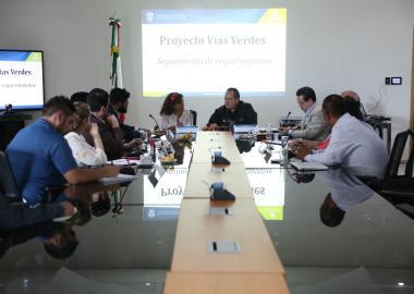 Representantes del CUValles y las Secretarías Estatales de Cultura y Movilidad